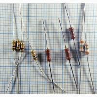 Резисторы выводные 0.25вт (170 номиналов) 10 шт. по цене 0.4 Грн. 1000 шт. по 0.12 Грн