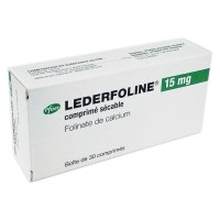 Lederfoline Pfizer France 15 mg 30 cpr, Ледерфолине 15 мг 30 таблеток