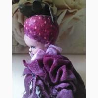 Кукла фарфоровая Клубничка