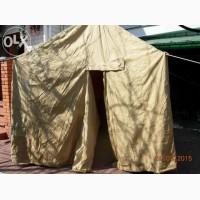 Брезентовая палатка различных размеров и применения в сельском хозяйстве