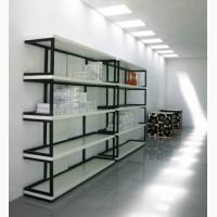 Мебель Loft, сварка стеллажей под магазин, кафе, сетка