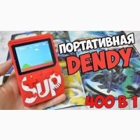 Игровая приставка Денди Game Box Sup 400 игр, портативная/ Ретро