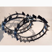Грунтозацепы для мотоблока на резиновые колеса R13