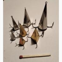 Блесна Конус ручной работы для ловли хищника: окуня, щуки, судака и т.д