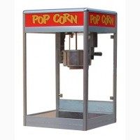 Аппараты для приготовления попкорна, сырье, стаканы, витрины для продажи