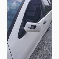Наклейка на авто Крылья на зеркала светоотражающие