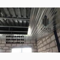 Профнастил конструктор, наборной профлист, проф-панель, узкий, дешевый 0, 35мм