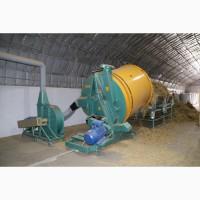 Измельчитель соломы стационарный, 2500 кг. час Tomahawk 505М