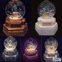 Сувенир - подарок Снежный Рождественский шар Дюк де Ришелье Одесса