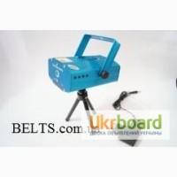 Лазерный проектор Mini Laser, лазер для дискотек 6 в 1